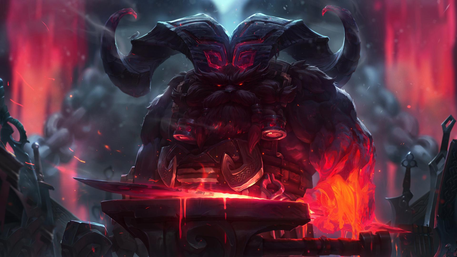 Nuovo Campione Ornn League of Legends