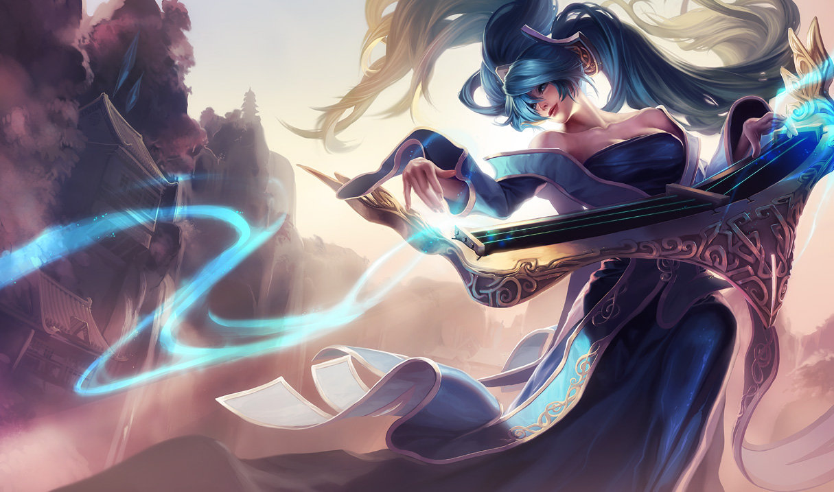 Combo Sona League of Legends