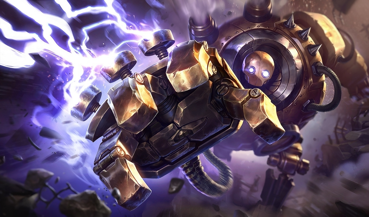 Combo Blitzcrank League of Legends