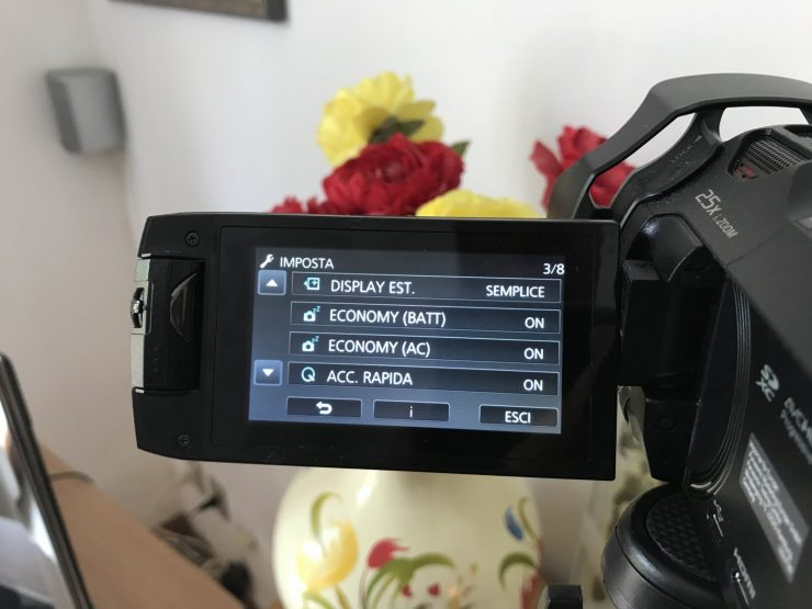 Panasonic HC-WX970 Videocamera 4K