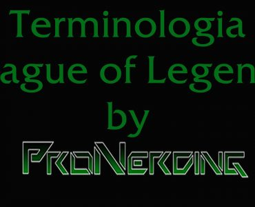 Terminologia League of Legends