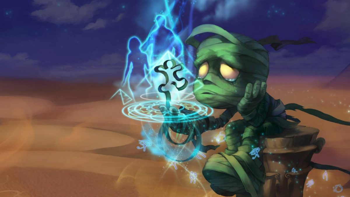 Combo Amumu League of Legends